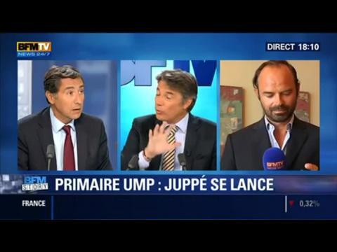 BFM Story: Présidentielle 2017: Alain Juppé se lance à la primaire de l'UMP - 20/08