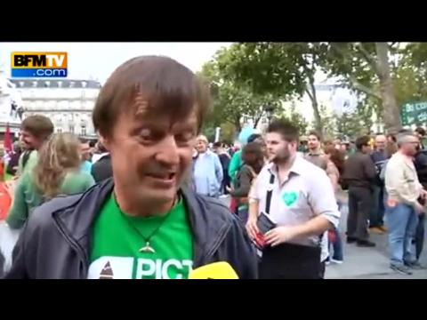 """Climat: """"il faut briser ce mur de fatalisme"""", assure Nicolas Hulot"""