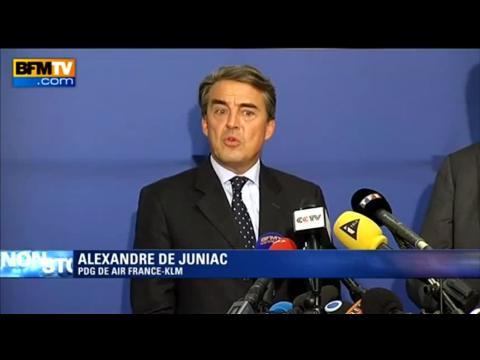 """Juniac, PDG de Air France KLM: """"la grève me paraît sans motif"""""""