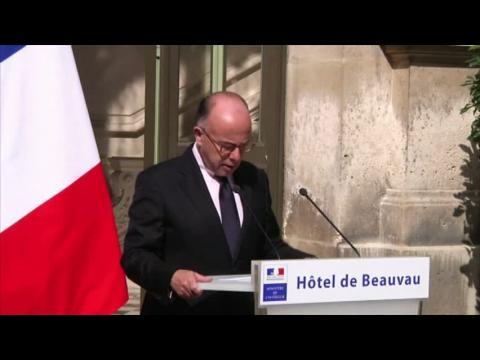 La France n'a pas peur des djihadistes de l'EI, dit Cazeneuve