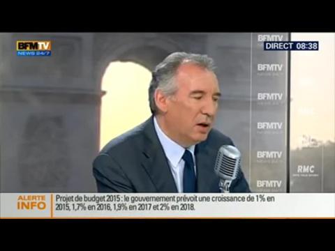 Bourdin Direct : François Bayrou – 01/10