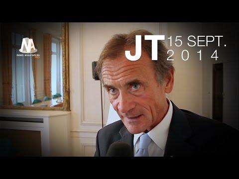 JT 15/09/2014 : Bon plan de Scor, changement à la FFSA - Travaux à la Fnim