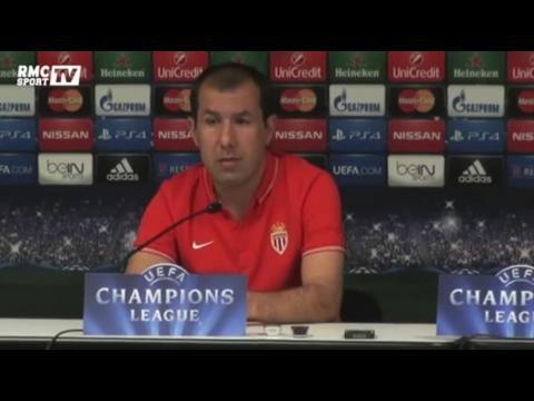 """Football / Jardim : """"On aurait aimé avoir d'autres solutions en Ligue des champions"""" 15/09"""