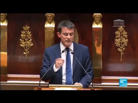 En direct : Manuel Valls en quête de confiance face aux députés