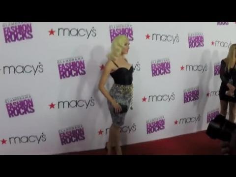 Macy's présente la soirée Glamorama Fashion Rocks à Los Angeles