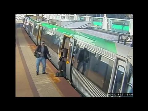 Australie: un homme coincé entre le quai et un wagon est libéré