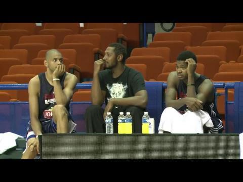 Basket : l'équipe de France débute son stage à Pau