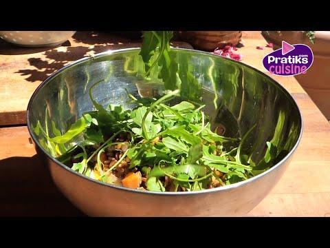 Cuisine minceur comment cuisiner une salade de fraises - Comment cuisiner des lentilles vertes ...