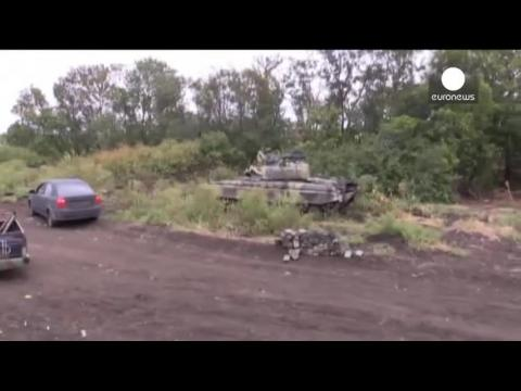 Ukraine : retrait de l'artillerie ukrainienne et séparatiste dans l'est