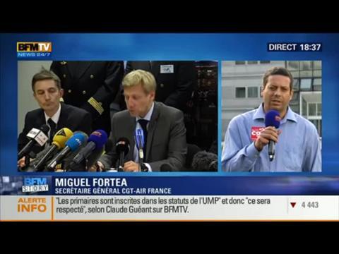 BFM Story: Grève à Air France: le bras de fer continue entre les pilotes et la direction - 22/09