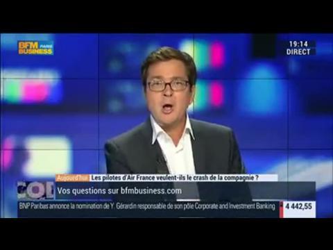 Les pilotes d'Air France veulent-ils le crash de la compagnie ?, dans Les Décodeurs de l'éco - 22/09 1/4