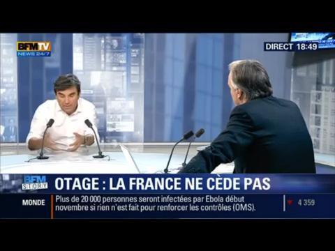 """BFM Story: Otage français en Algérie: """"sa détention est dans un contexte extrêmement difficile"""" - 23/09"""