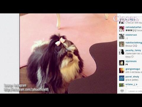 What's up sur les réseaux sociaux ? Zahia joue les Brigitte Bardot