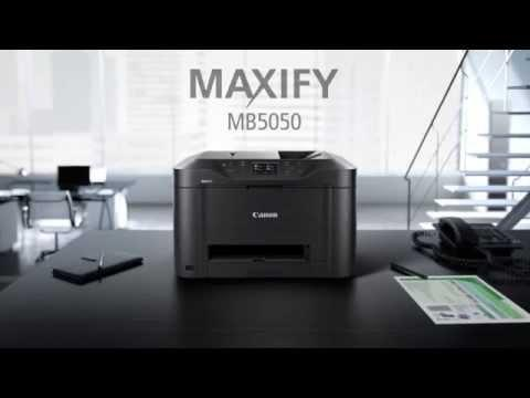 Imprimante Multifonction Canon MAXIFY MB5050 WiFi & Cloud