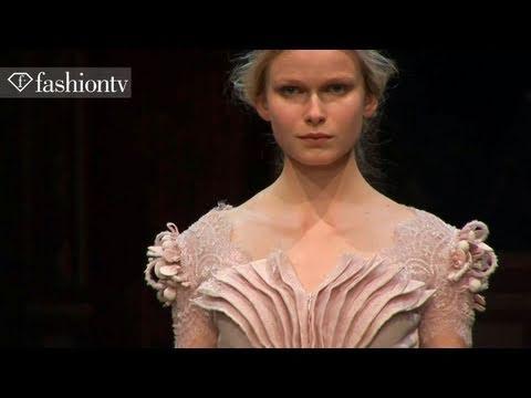 Georges Hobeika Runway Show - Paris Couture Fashion Week Fall 2011   FashionTV - FTV.