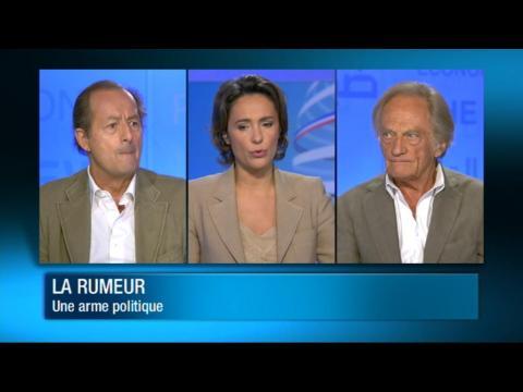La rumeur : une arme politique