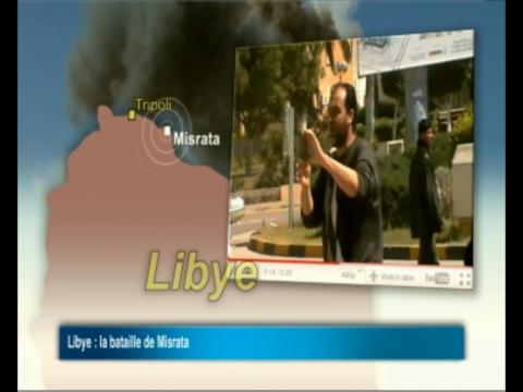 La Toile témoigne des combats dans la ville libyenne de Misrata