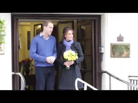 La Duchesse de Cambridge Kate Middleton donne naissance à un garçon