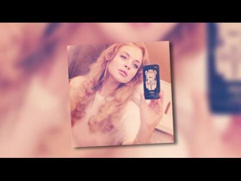 Lindsay Lohan partage un autoportrait sur Instagram