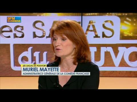 Muriel Mayette, administratrice générale de la Comédie-Française, Les Sagas du Pouvoir 24/07 2/4