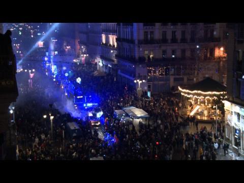 Défilé de lumière à Marseille pour la capitale culturelle