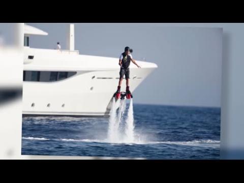Leonardo DiCaprio s'envole à Ibiza
