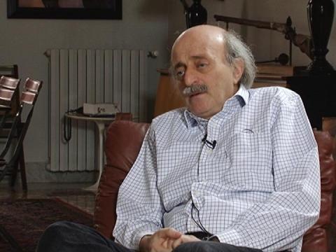 Walid Joumblatt, chef de la communauté druze