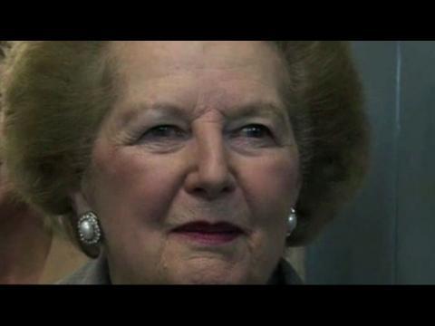 Margaret Thatcher est décédée à l'âge de 87 ans