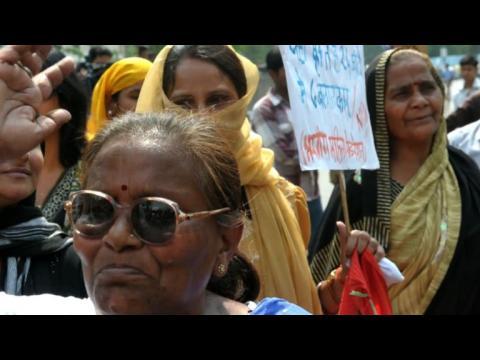 Inde: manifestations après le viol d'une fillette de 5 ans