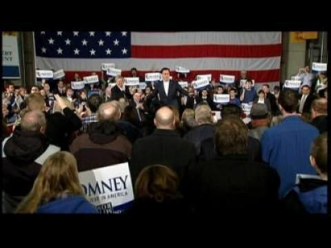 """Super Tuesday"" : Mitt Romney remporte six États sur dix"