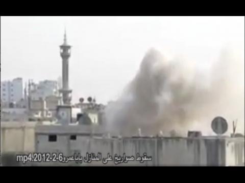Syrie : Homs de nouveau sous les bombes