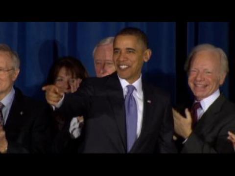 Barack Obama en faveur du mariage homosexuel
