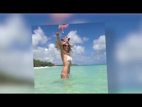 Heidi Klum fête le 4 juillet
