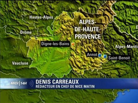 Un train déraille dans les Alpes-de-Haute-Provence: les passagers évacués - 08/02