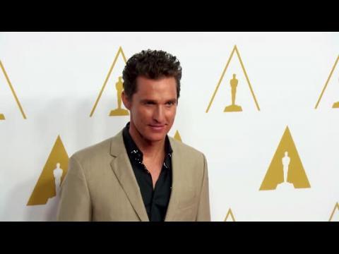 Matthew McConaughey admet qu'il était un vrai noceur avant son mariage