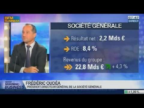 """Système bancaire: """"Nous sommes complètement en règle avec le nouveau ordre réglementaire"""", Frédéric Oudéa, dans GMB - 12/02"""