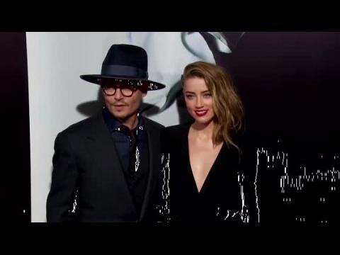 Johnny Depp et Amber Heard sur le tapis rouge