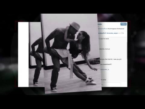 Ariana Grande et Chris Brown répètent pour un clip