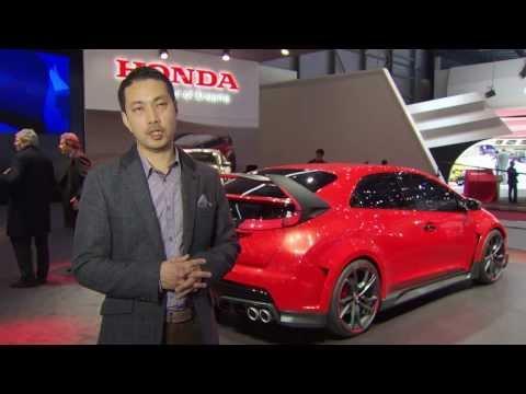 Honda Racing Car for the Road - Interviews from Geneva Auto Show 2014 | AutoMotoTV