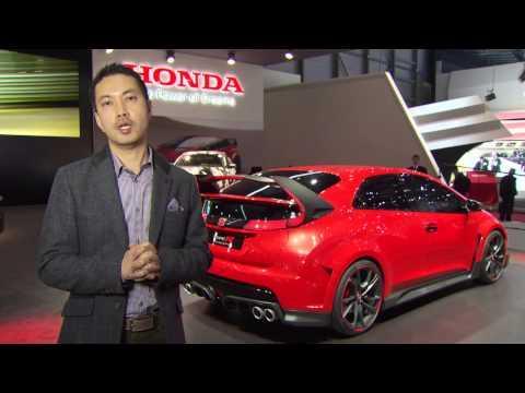 Geneva Auto Show 2014 - Masaru Hasewaga, Designer Honda Civic Type R | AutoMotoTV