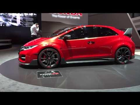 Honda Civic Type R Concept at Geneva Motor Show 2014 | AutoMotoTV