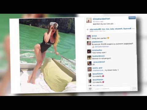 Les photos sexy de Khloe Kardashian en matelot