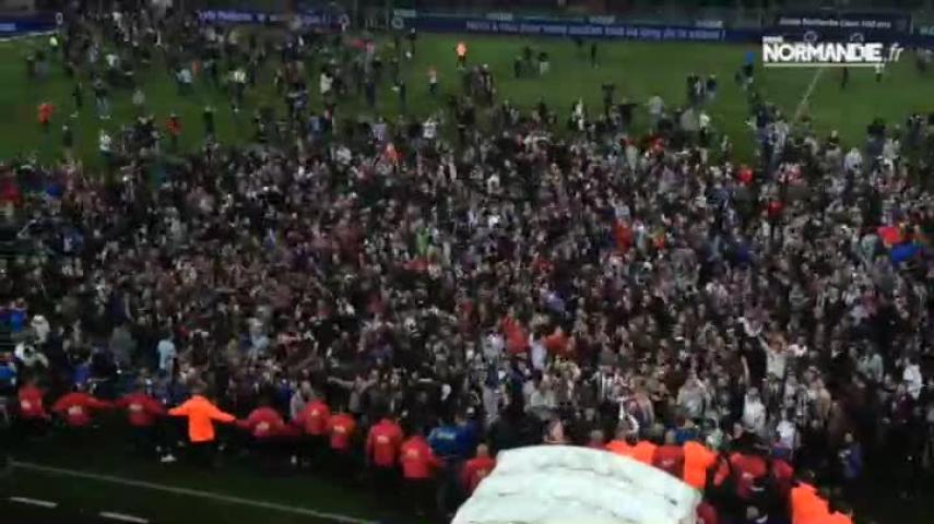 Le SM Caen monte en ligue 1