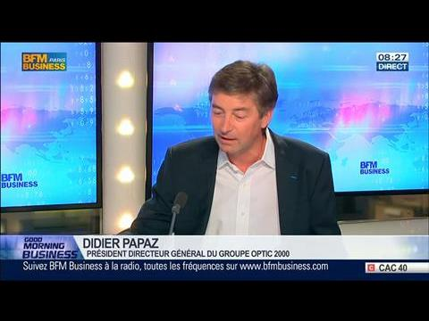 """Bataille des lunettes: """"Des milliers d'emplois sont concernés"""", Didier Papaz, dans GMB – 24/04"""