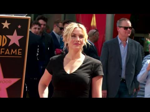 Kate Winslet reçoit son étoile sur l'Hollywood Walk of Fame