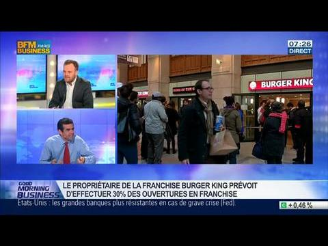 Burger King ouvrira 25 restaurants dans les grandes villes de France, Jocelyn Olive, dans GMB – 21/03