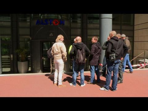 Alstom: les salariés inquiets du possible rachat par GE