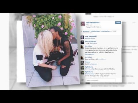 Ireland Baldwin embrasse la rappeuse bisexuelle, Angel Haze