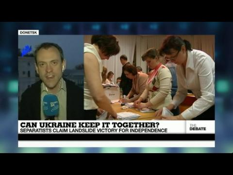 Can Ukraine Keep it Together? Separatists Claim Landslide Victory for Independence