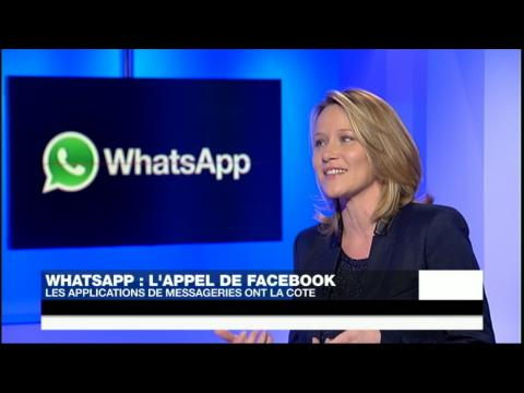 WhatsApp : l'appel de Facebook